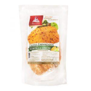 Filete de Pescado Empanizado Tortilla Limón 500g